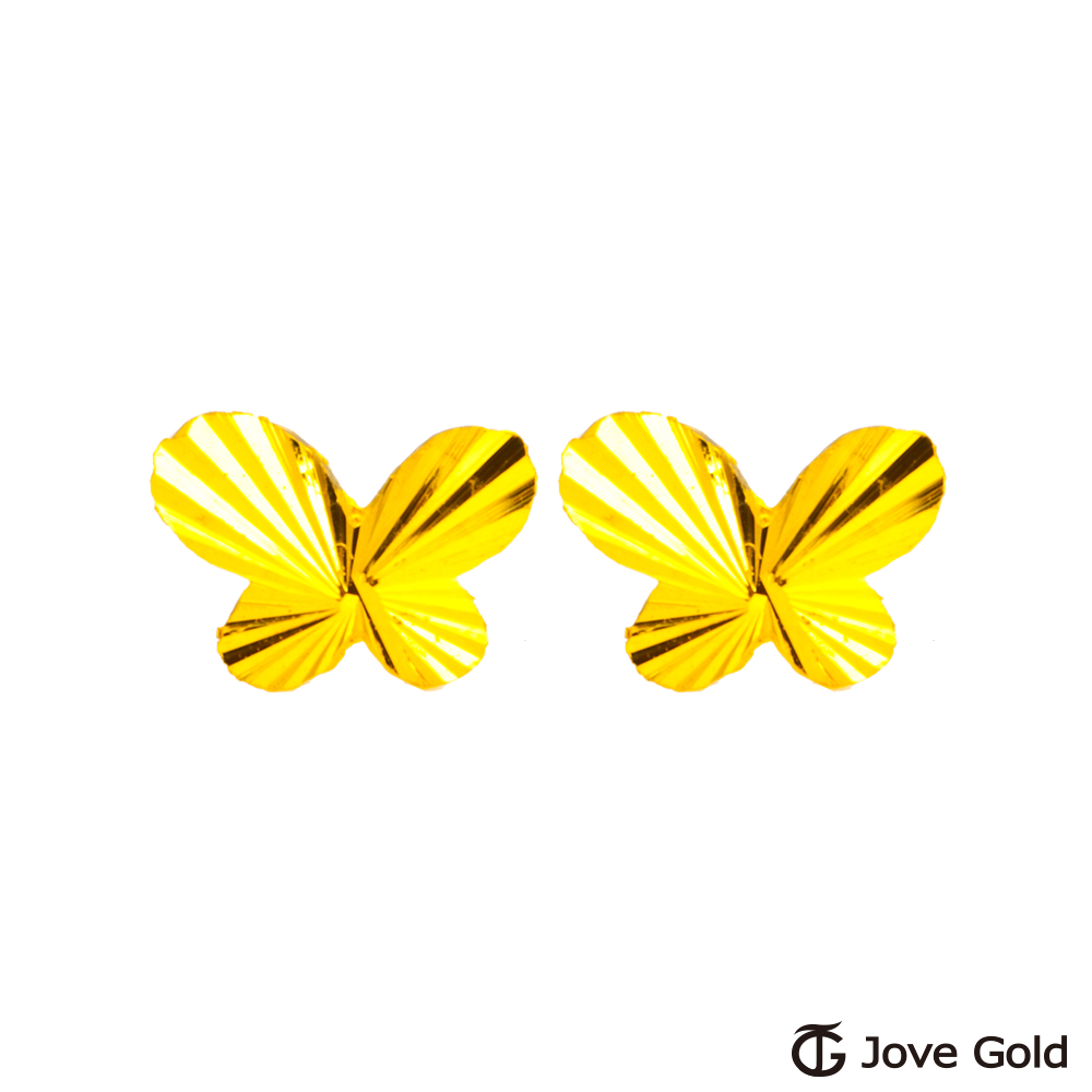 Jove gold 覓蜜黃金耳環