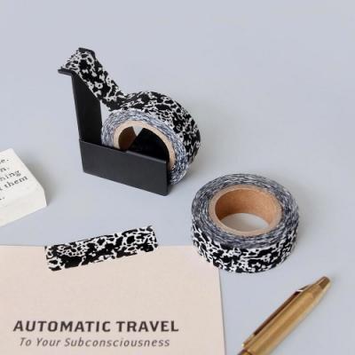 Prelude 磨石子紙膠帶-黑色