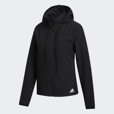 adidas 運動外套 連帽 健身 訓練  黑 FT3089 LW WOVEN JKT
