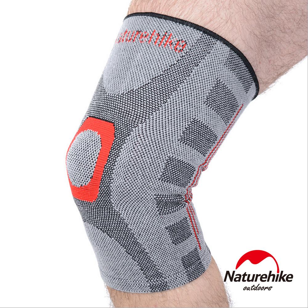 Naturehike 抗菌竹炭 無縫透氣減壓 - 護膝x2入