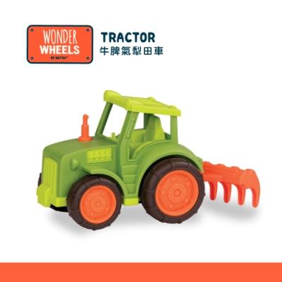 美國【B.Toys】Wonder Wheels系列-牛脾氣犁田車玩具