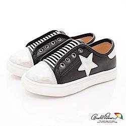 雨傘牌 星星休閒鞋款 EI73525黑(中小童段)