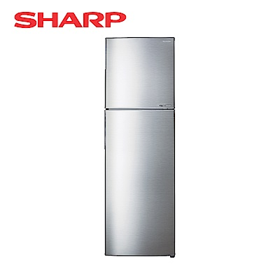 SHARP夏普 253L 1級變頻2門電冰箱 SJ-GX25-SL 光耀銀