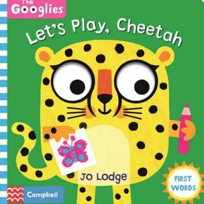 Let s Play,Cheetah 跟著獵豹玩遊戲操作書