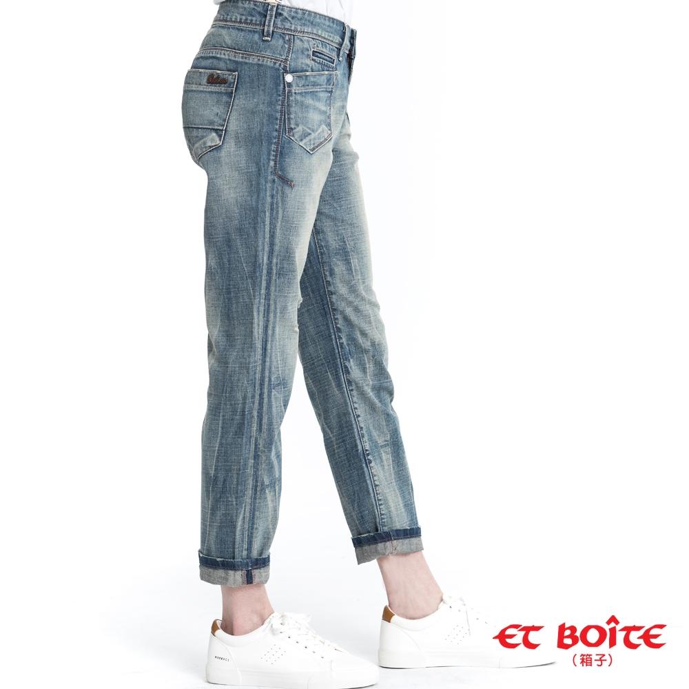 ETBOITE箱子 BLUE WAY – 翹臀美腳率性男友褲