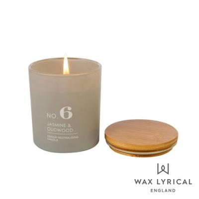 英國 Wax Lyrical 居家系列香氛蠟燭-NO.6 烏木茉莉 Jasmine & Oudwood 190g