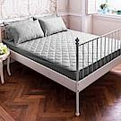 La Lune 軒S物語防汙防潑水鋪棉加厚單人床包式保潔墊(含枕墊) 多色可選