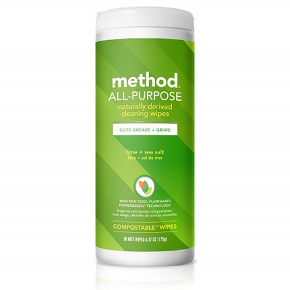 Method 美則 全效居家清潔濕紙巾-萊姆海鹽 30入