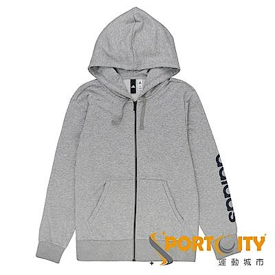 ADIDAS 男 連帽外套 灰-S98794