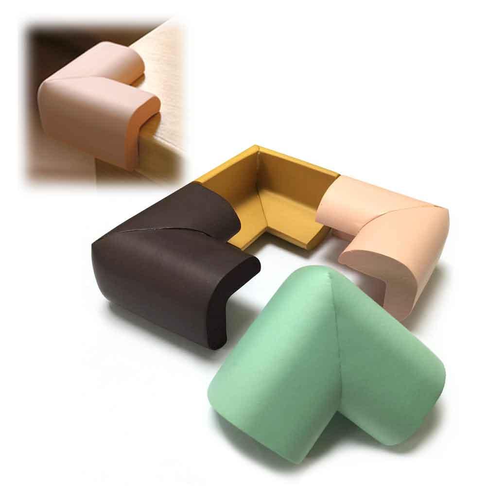 (16入超值包)高密度厚款泡泡角 桌角防撞套 防護套(附膠條)