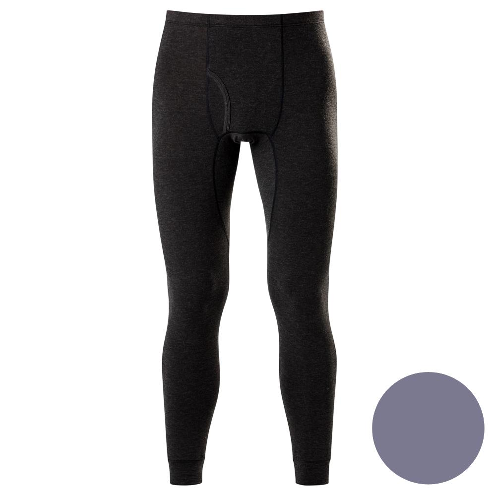 DADADO-極衣恆溫紗素面M-LL 保暖褲(灰)