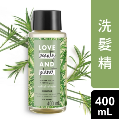 Love Beauty and Planet 澳大利亞茶樹淨化舒活洗髮精 400ML