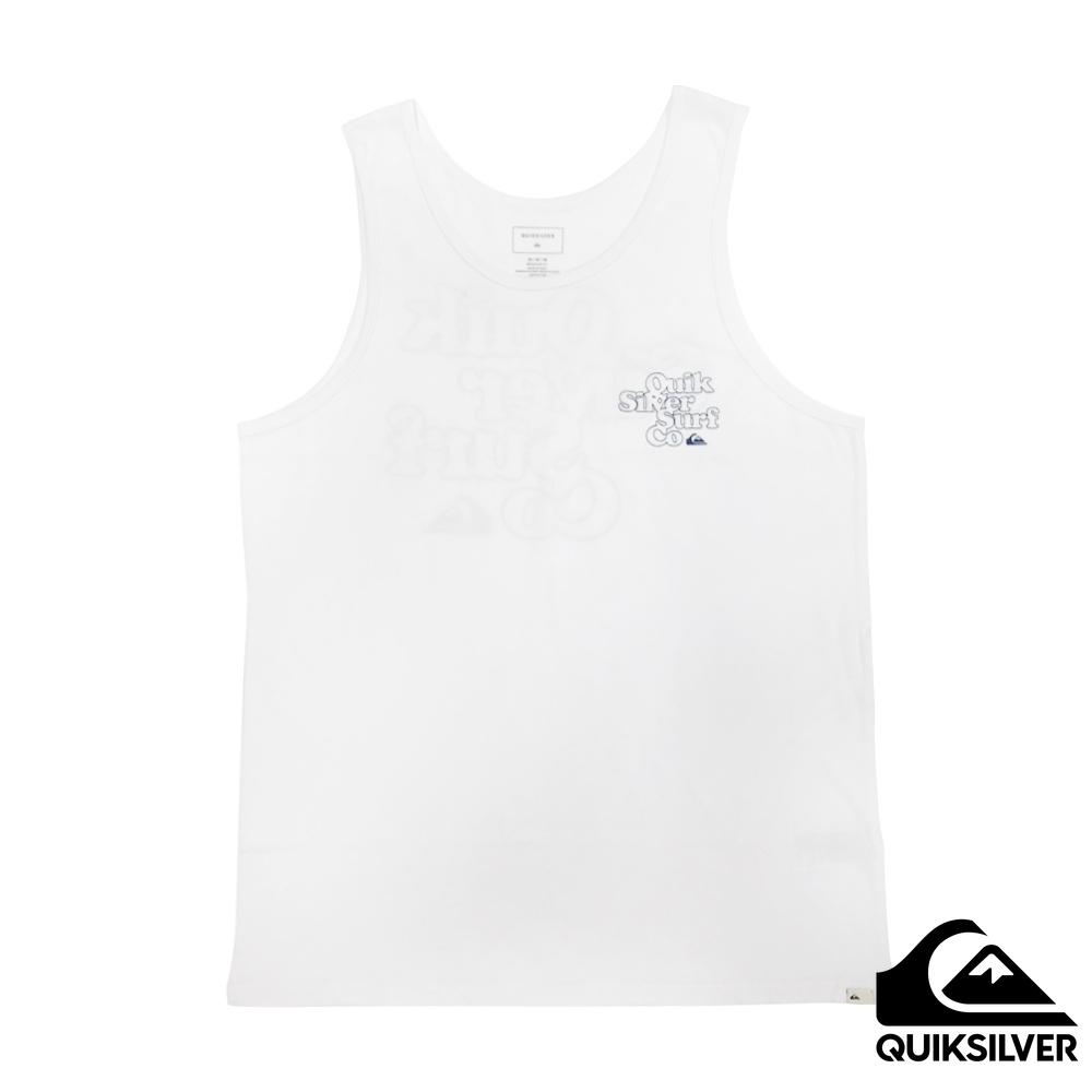 【QUIKSILVER】Double Stacked Tank 背心 白