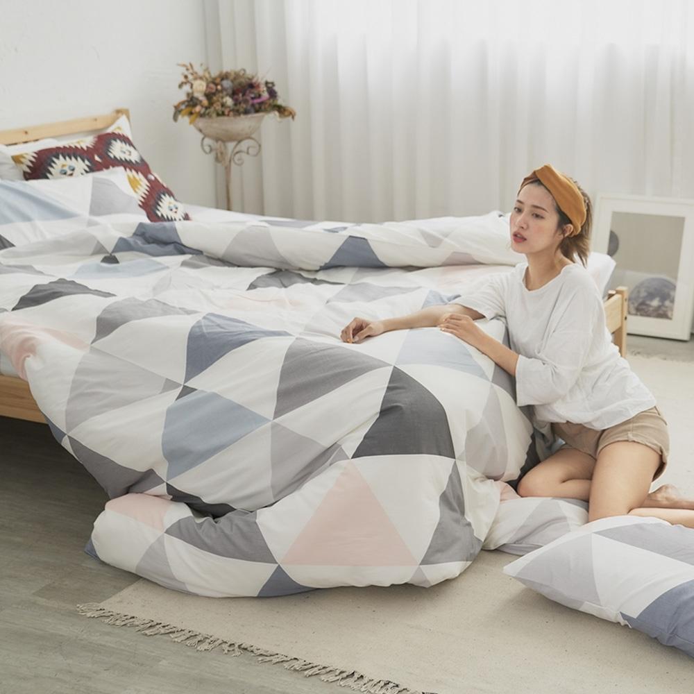 BUHO 天然嚴選純棉雙人舖棉兩用被套-6x7尺(天空之鏡)