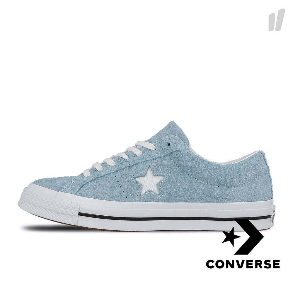 CONVERSE-ONE STAR男女休閒鞋-藍