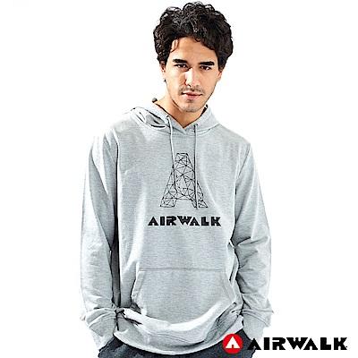 【AIRWALK】男款連帽印花T-共三色