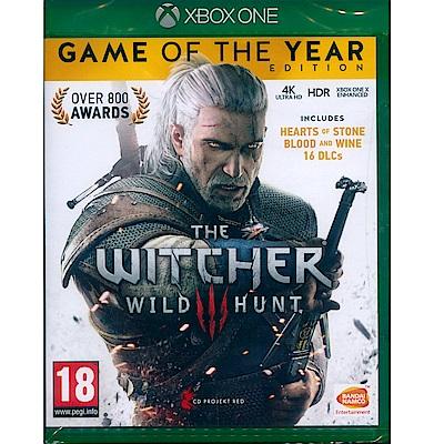 巫師 3:狂獵 年度最佳遊戲版THE WITCHER III-XBOX ONE 中英文歐版