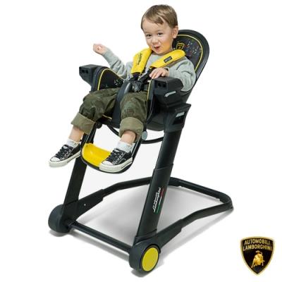 【Lamborghini藍寶堅尼】全台獨家 兒童高腳餐椅 嬰兒餐椅 高腳餐椅 寶寶餐椅