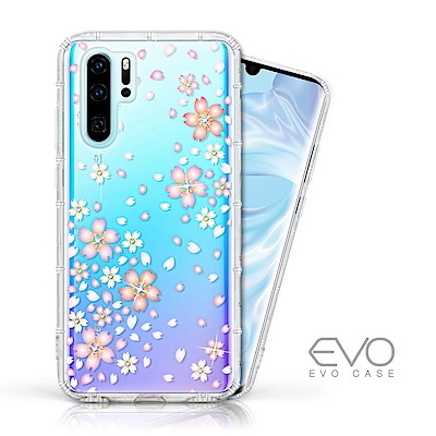 EVO CASE HUAWEI P30 Pro 奧地利水鑽殼 - 櫻花