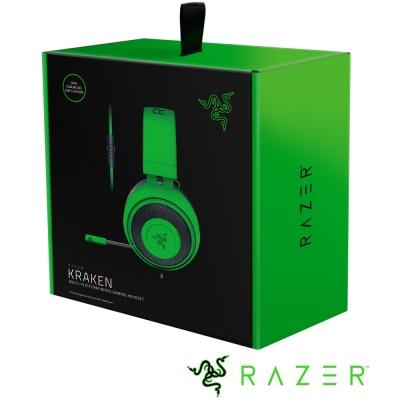 Razer Kraken 北海巨妖 電競耳機(綠)