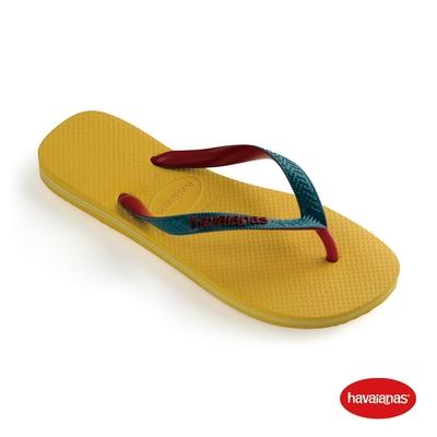 Havaianas哈瓦仕 拖鞋 夾腳拖 人字拖 巴西 男鞋 女鞋 金黃 4115549-0776U Top Mix