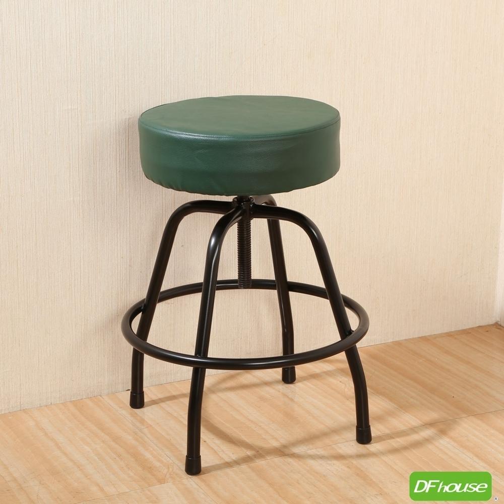 《DFhouse》麥肯基-泡棉旋轉椅-綠色 寬44*深44* 高56-69