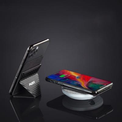 美國 MOFT X | 無線感應版手機隱形支架 支援無線充電 不取卡感應更方便