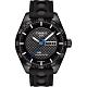 TISSOT PRS516 系列時尚機械腕錶-黑x橡膠錶帶/42mm product thumbnail 1