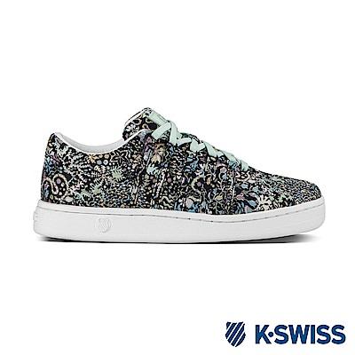 K-Swiss Classic 88 Liberty休閒運動鞋-女-花紋/白