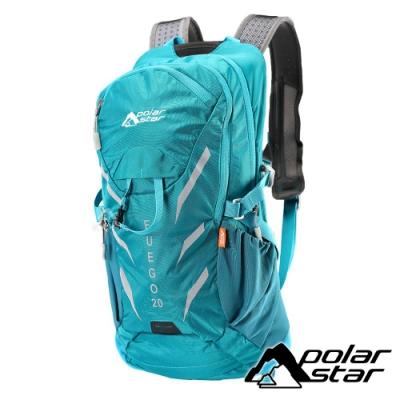 【PolarStar】休閒透氣背包20L『藍綠』P18727