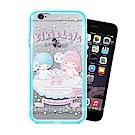 三麗鷗授權 iPhone 6s Plus / 6 Plus 二合一雙料手機殼(雙子棉花糖)