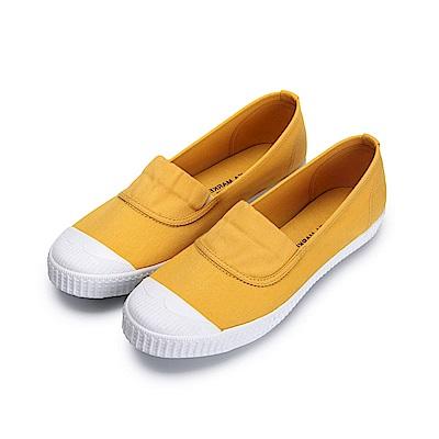 BuyGlasses 少女情懷鬆緊休閒鞋-黃