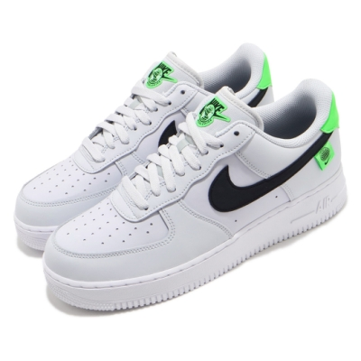 Nike 休閒鞋 Air Force 1 07 運動 男鞋 經典款 AF1 皮革 質感 簡約 穿搭 灰 黑 CK7648002