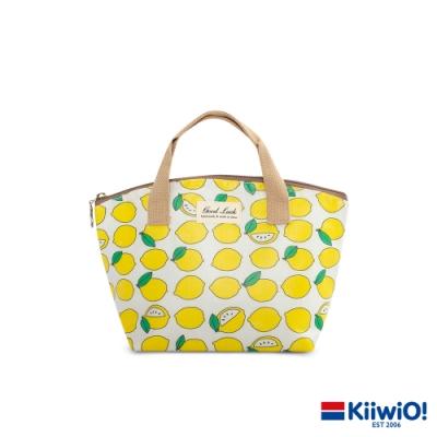 輕量防潑保冷保溫袋 清新檸檬
