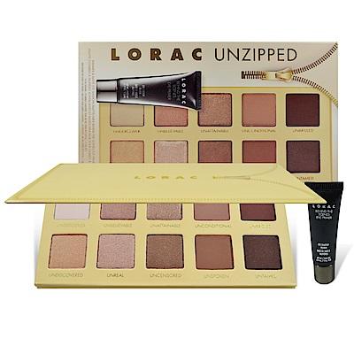 Lorac Unzipped 10色眼影盤+眼部打底膏 5.5g