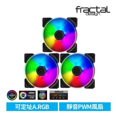 【Fractal Design】 Prisma AL PWM ARGB 14cm風扇 三包