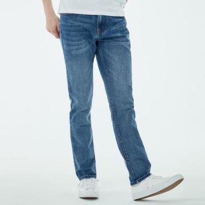101原創 經典REGULAR彈性牛仔褲-藍-男