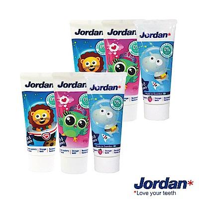 Jordan 清新水果味兒童牙膏(0-5歲)*6入組