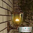 Time Leisure 戶外防水壁燈/歐式壁燈/仿舊燈飾(古銅)