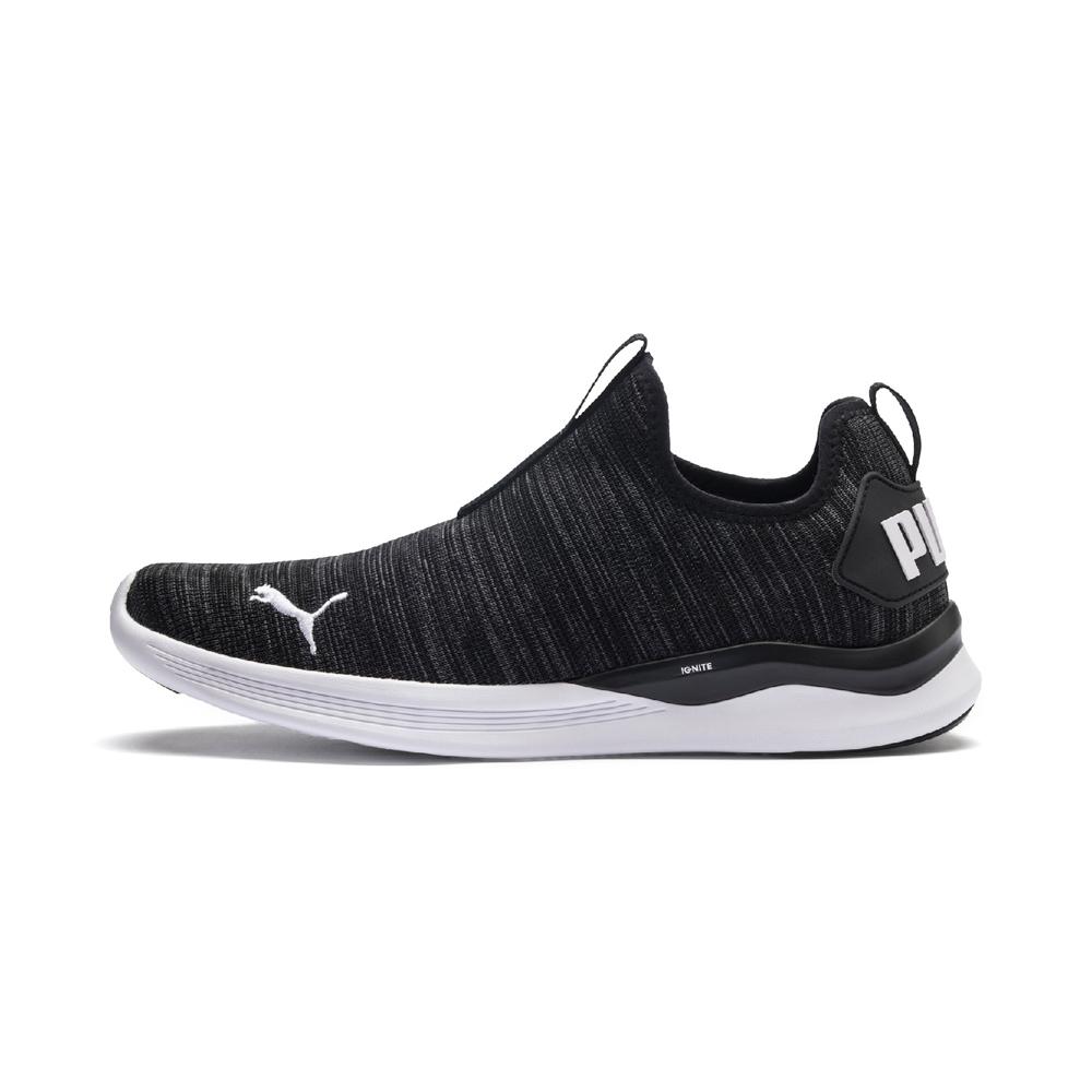 PUMA-IGNITE Flash Summer Slip 男性慢跑鞋-黑色