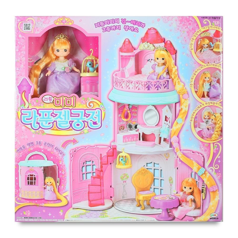 MIMI WORLD 迷你MIMI長髮公主城堡 家家酒
