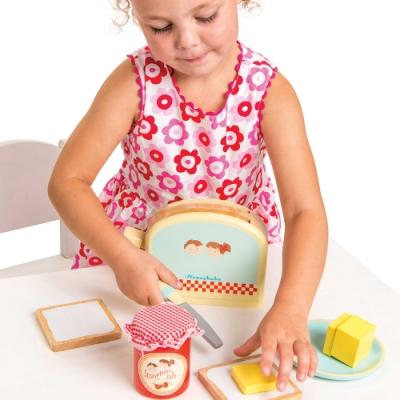 英國 Le Toy Van 角色扮演系列-蜜糖吐司玩具組