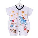 點點動物印花短袖連身衣 k50383 魔法Baby