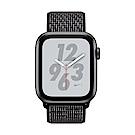 Apple Watch Nike+ S4(GPS+網路)44mm太空灰鋁金屬錶殼+黑色錶環