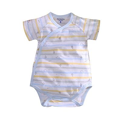 薄款純棉短袖連身衣 a70233 魔法Baby