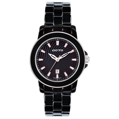 GOTO 經典陶瓷x不鏽鋼手錶-甜甜價只要2480元