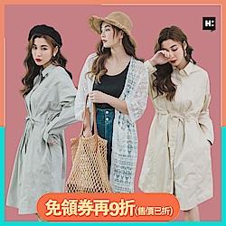 韓系襯衫洋裝/罩衫
