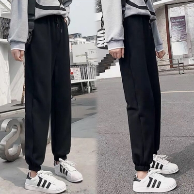 【韓國K.W.】(預購)舒適主打休閒褲-2色
