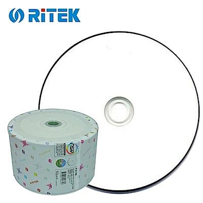 錸德 Ritek X版 珍珠白滿版可印 CD-R 52X (100片)