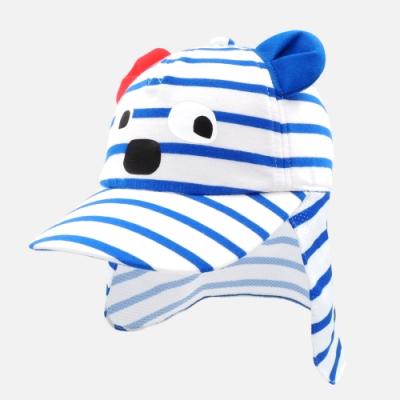 WHY AND 1/2 mini 普普熊護頸遮陽帽